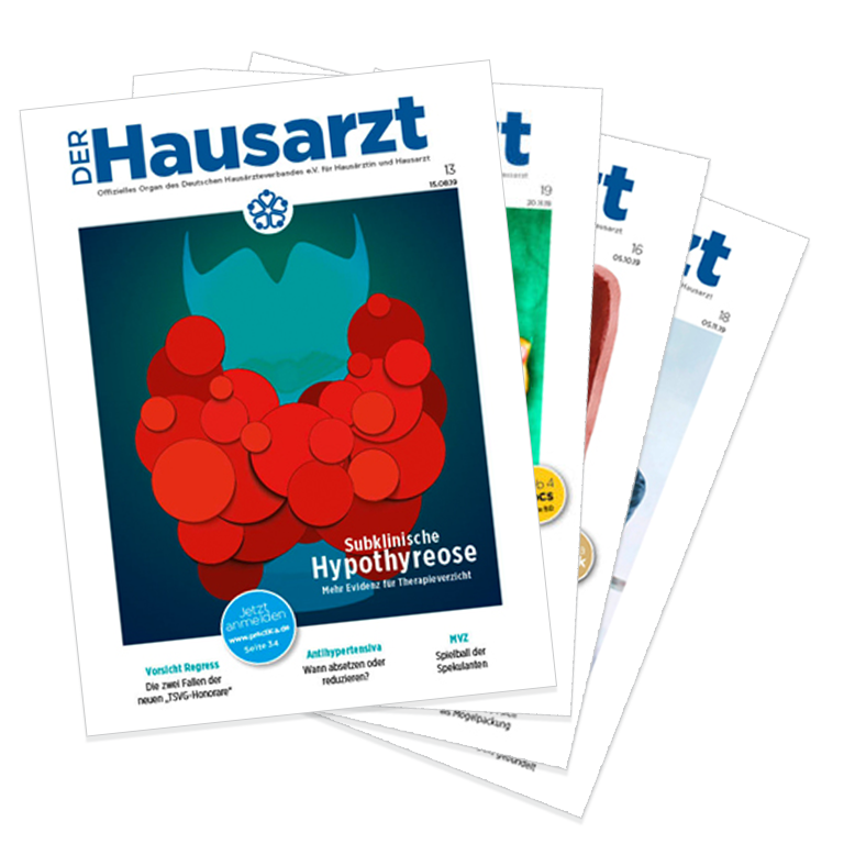 Collage Magazin Hausarzt